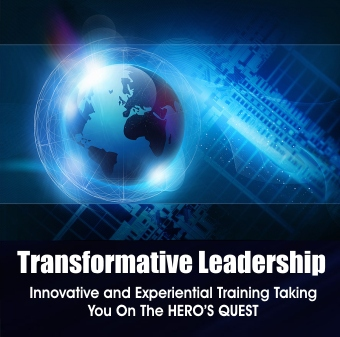 Transfermation Leadership, innovative and experiential training taking you on the heros quest